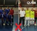 Jogo entre Ecam X Quem Guenta Futsal