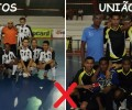 Jogo entre Santos Futsal X União Futsal
