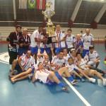 """Equipe do Jocal Futsal vence Eu, Zé e os Karas """"A"""" e é campeão da Copa Suzano de Futsal 2013"""
