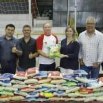 PREFEITO DE SUZANO PRESTIGIA I COPA SOLIDARIA DE FUTSAL