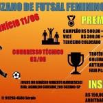 ABERTAS INSCRIÇÕES PARA O CAMPEONATO FEMININO 2017